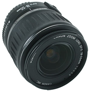 CANON 18-55MM F/3.5-5.6 EF-S MOUNT LENS FOR APS-C SENSOR DSLRS {58}