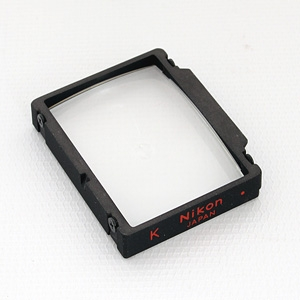 NIKON K MATTE FRESNEL SPLIT IMAGE RANGEFINDER MICROPRISM FOCUSING SCREEN FOR NIKON F3 Image 0