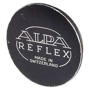 Alpa Alpa 37mm Alpa Reflex Black Metal Push-On Front Lens Cap