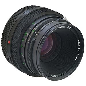 BRONICA 75MM F/2.8 EII LENS FOR ETR SYSTEM {62}