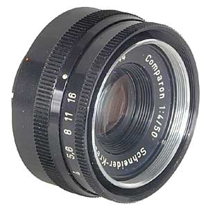 SCHNEIDER 50MM F/4 COMPARON (25MM MOUNT) ENLARGING LENS