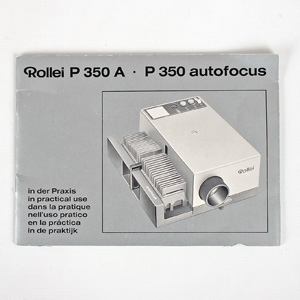 ROLLEI P350 A PROJECTOR INSTRUCTIONS