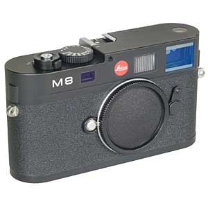 LEICA M8 BLACK DIGITAL CAMERA BODY {10.3 M/P}