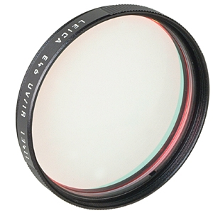 LEICA 46MM UV/IR BLACK #13411 FILTER