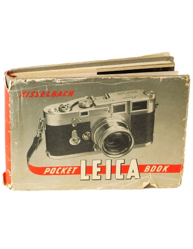Leica M LEICA POCKET BOOK, KISSELBACH 2ND ED 1952,HC, 223 PGS
