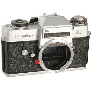 LEICA SL CHROME VERSION 1 (2 POSITION ADVANCE LEVER) 35MM CAMERA BODY