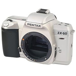 PENTAX ZX-60 35MM CAMERA BODY Image 0