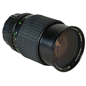MISCELLANEOUS BRAND 28-100MM F/3.5-5.5 MACRO MANUAL FOCUS LENS FOR PENTAX K MOUNT {62}