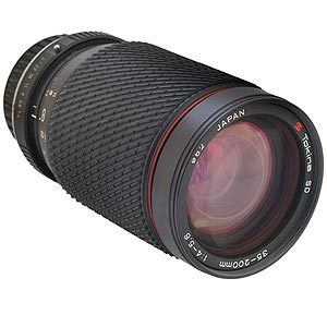 TOKINA 35-200MM F/4-5.6 SD MANUAL FOCUS LENS FOR PENTAX K MOUNT {62}