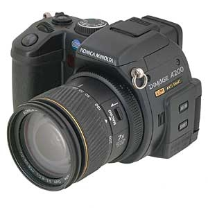 MINOLTA DIMAGE A200 DIGITAL CAMERA {8 M/P} Image 4