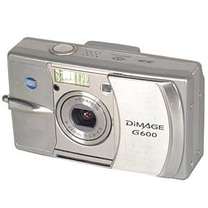 MINOLTA DIMAGE G600 DIGITAL CAMERA {6 M/P}