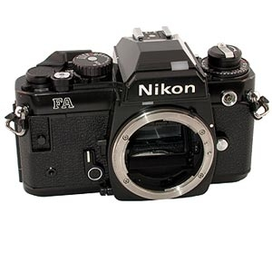 NIKON FA BLACK 35MM CAMERA BODY Image 3