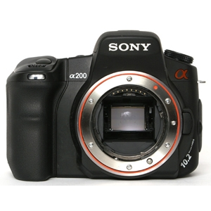 SONY A200 DIGITAL CAMERA BODY {10.2 M/P}