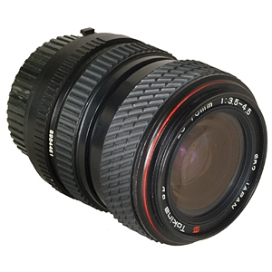 TOKINA 28-70MM F/3.5-4.5 SD MACRO 2-TOUCH MANUAL FOCUS LENS FOR MINOLTA MD MOUNT {52}