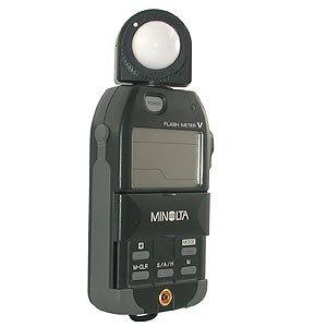 Light Meters MINOLTA FLASH METER V (AMBI/FLASH)