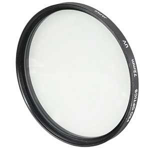 MISCELLANEOUS BRAND 72MM UV FILTER