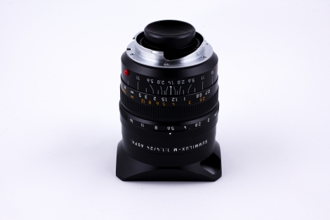 LEICA 24MM F/1.4 SUMMILUX-M ASPHERICAL BLACK (6 BIT) M MOUNT LENS {SERIES 7 IN HOOD} Image 2