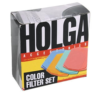 HOLGA COLOR SET #148120/REQS HOLDER FILTER