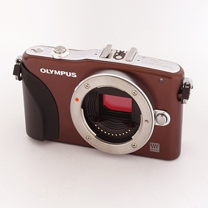 OLYMPUS Z** DO NOT USE PEN E PM1 BROWN DIGITAL CAMERA BODY {12.3 M/P}