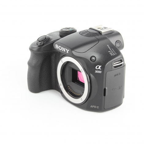 SONY A3000 DIGITAL CAMERA BODY {20.1 M/P} Image 1