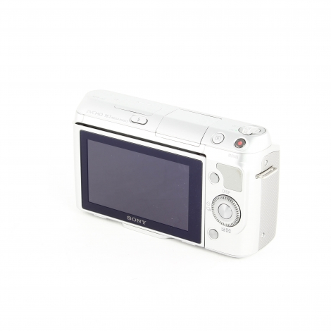 SONY NEX F3 SILVER DIGITAL CAMERA BODY {16.1 M/P} Image 4